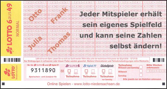 Lotto Tippgemeinschaft